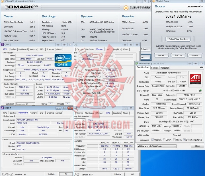 06 ASUS P8P67 EVO Motherboard Review