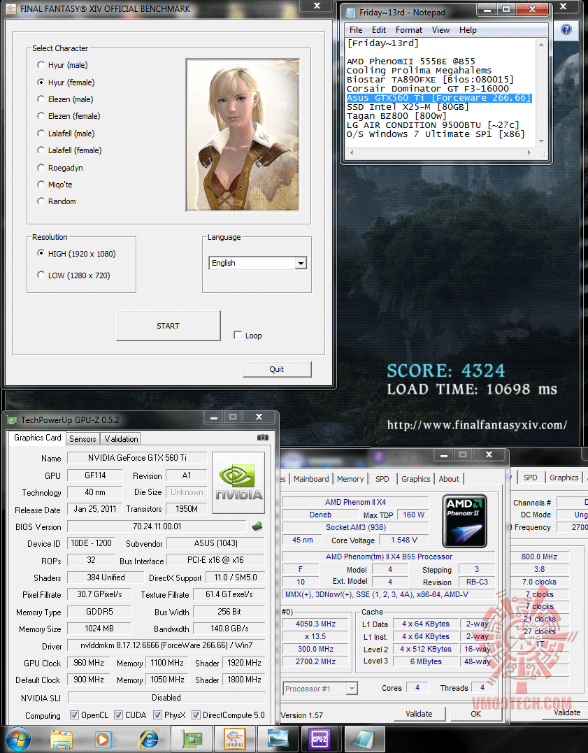 960 1100 300x135 dx9 ffxiv 4324 Asus GTX560 Ti DirectCUII TOP : Review