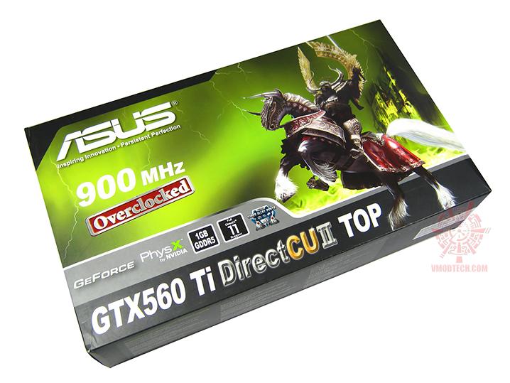 asus gtx560ti 01 Asus GTX560 Ti DirectCUII TOP : Review
