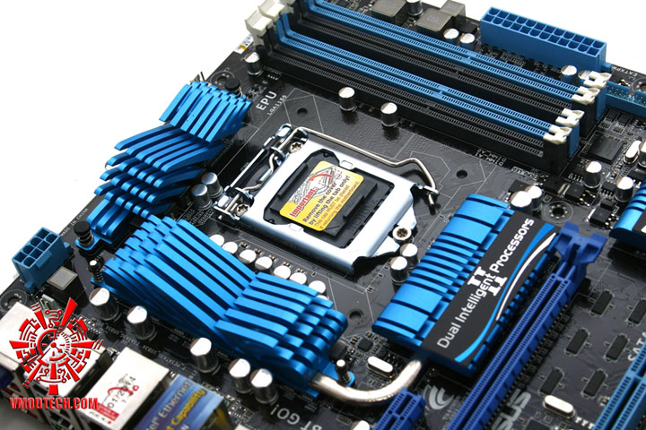 mg 2861 ASUS P8P67 EVO Motherboard Review