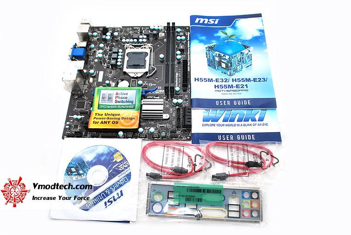dsc 0677  MSI H55M E32 MicroATX Motherboard