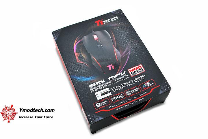 dsc 0047 Tt eSPORTS Black Element Gaming Mouse