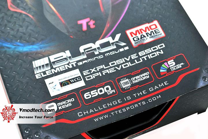 dsc 0048 Tt eSPORTS Black Element Gaming Mouse