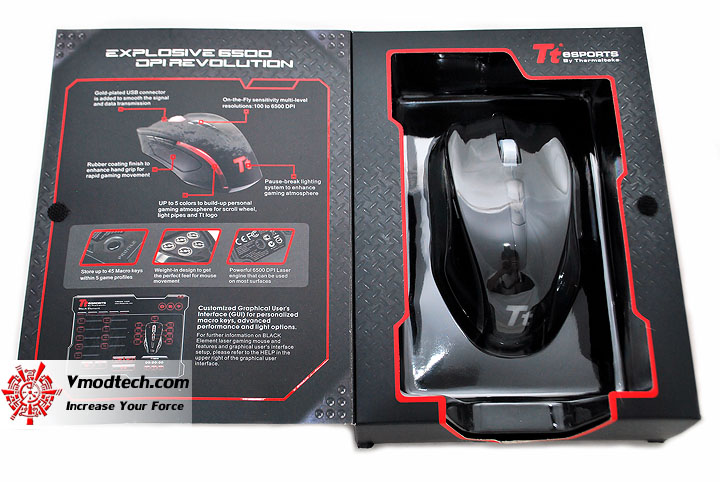 dsc 0051 Tt eSPORTS Black Element Gaming Mouse