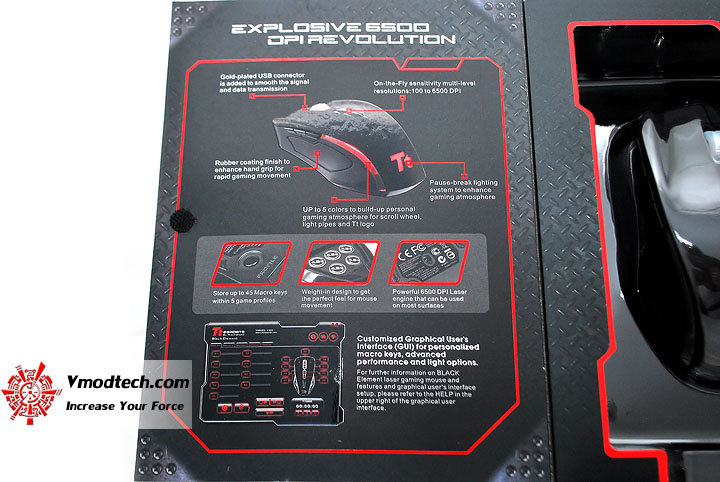dsc 0053 Tt eSPORTS Black Element Gaming Mouse
