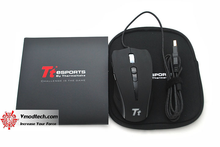 dsc 0054 Tt eSPORTS Black Element Gaming Mouse