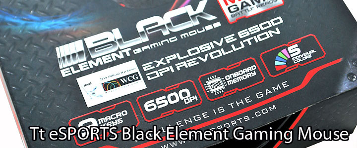 main Tt eSPORTS Black Element Gaming Mouse