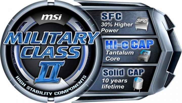 military class ii 720x408 พลังสายฟ้าฟาดคูณสอง จาก MSI เปิดตัว N580GTX Lightning และ R6970 Lightning