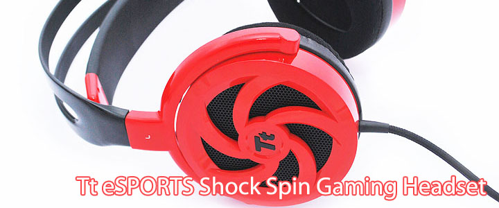 main1 Tt eSPORTS SHOCK SPIN Gaming Headset