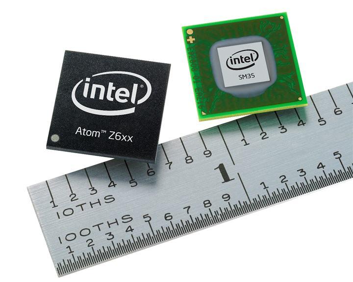 atom z6xx with sm35 express chipset front อินเทล™ อะตอม™ โปรเซสเซอร์รุ่นใหม่สำหรับแท็บเบล็ตพีซี ตอบรับนวัตกรรมการประมวลผลของอุปกรณ์เสริม