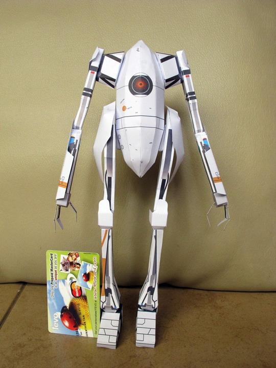 paper toy 1 ข่าวการวางจำหน่ายเกม PORTAL 2 Premium Edition ( Limited 1,000 ชุดในไทยเท่านั้น )