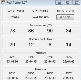 prime95 5026ghz 2 Thermaltake Frio OCK : Heatpipe Roundup PartsII Review