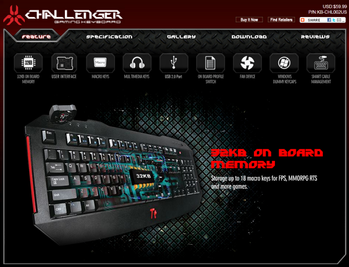 4 13 2011 10 36 52 pm Tt eSPORTS Challenger Gaming Keyboard