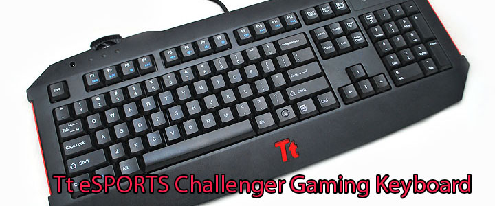 main Tt eSPORTS Challenger Gaming Keyboard