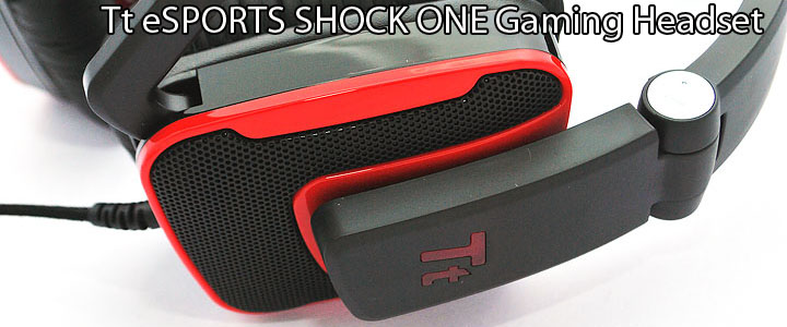main Tt eSPORTS SHOCK ONE Gaming Headset
