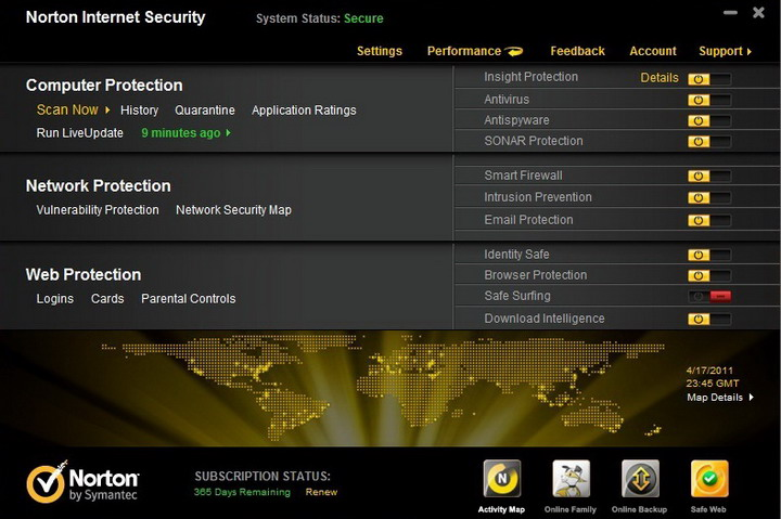 10 Norton Internet Security 2011 Review