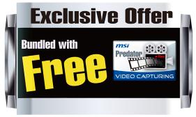 exclusive offer MSI เปิดตัวกราฟฟิคการ์ด N520GT MD1GD3/LP