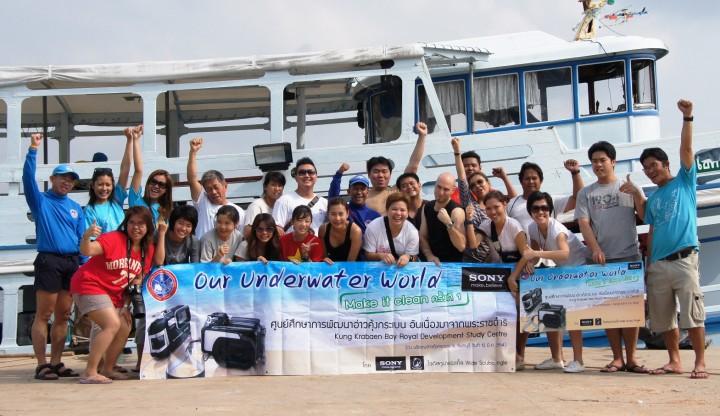 group 2 720x416 โซนี่ไทยร่วมอนุรักษ์ฟื้นฟูท้องทะเลไทย  สนับสนุนโครงการ Our Underwater World – Make it clean ครั้งที่ 1