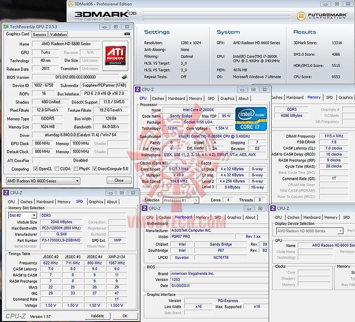 06 de SAPPHIRE AMD Radeon HD6670 1GB DDR5