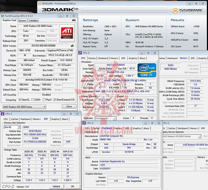 06 oc SAPPHIRE AMD Radeon HD6670 1GB DDR5