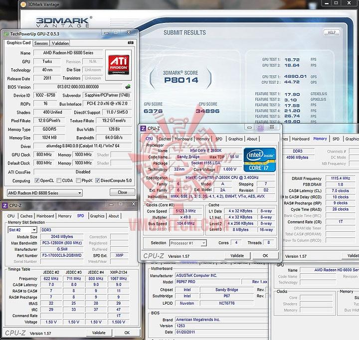vantage de SAPPHIRE AMD Radeon HD6670 1GB DDR5
