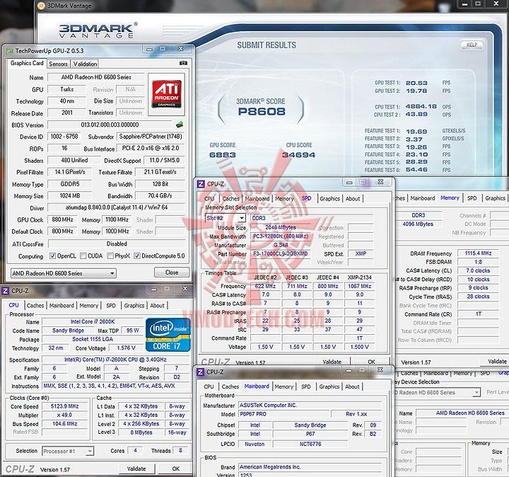 vantage oc SAPPHIRE AMD Radeon HD6670 1GB DDR5
