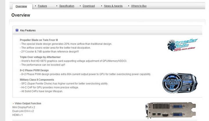 2 msi HD 6870 HAWK 1GB DDR5 Review