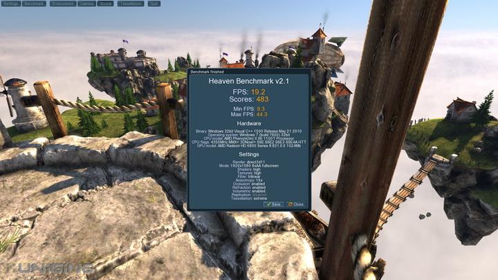 unigine 2011 04 22 22 19 27 28 msi HD 6870 HAWK 1GB DDR5 Review