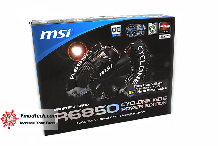 dsc 0318 MSI HD6850 Cyclone IGD5 Power Edition