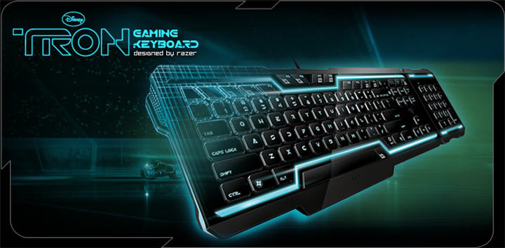 tron keyboard main Ascenti Resources ส่งคีบอร์ดสุดล้ำแห่งโลกอนาคต Razer Tron