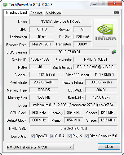4 26 2011 9 10 23 pm GIGABYTE Nvidia GeForce GTX 590