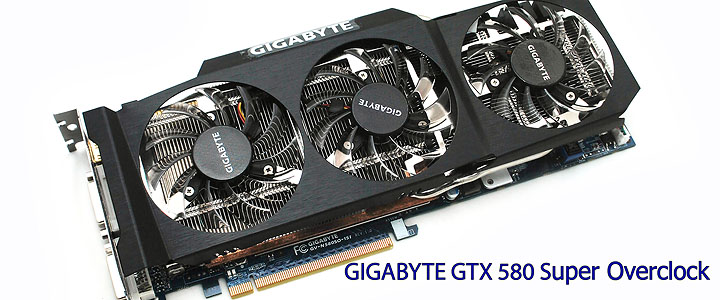 main GIGABYTE GTX 580 Super Overclock