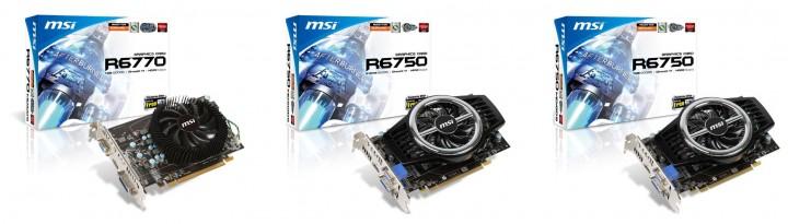 r6700 series 720x205 กราฟิกการ์ด AMD HD6700 Series จาก MSI มาพร้อม Predator Video Capture รองรับการถอดรหัส Blu ray 3D