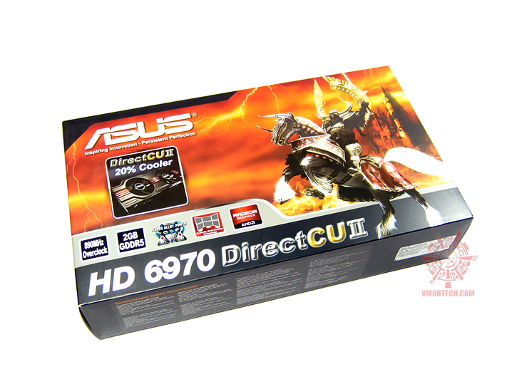 asus hd6970 01 Asus ATi HD6970 DirectCUII : Review