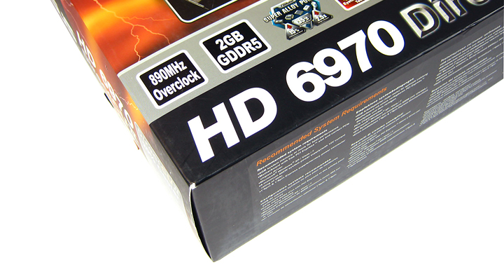 title introduction Asus ATi HD6970 DirectCUII : Review