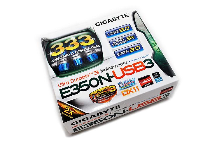 main GIGABYTE E350N USB3