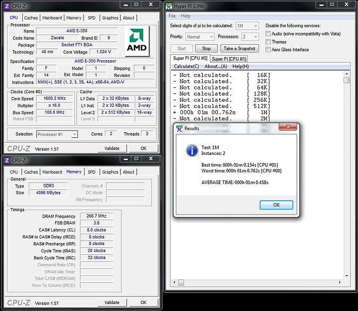 superpi1 GIGABYTE E350N USB3