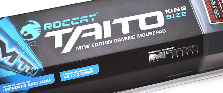 main Roccat Taito King Size Gaming Mousepad