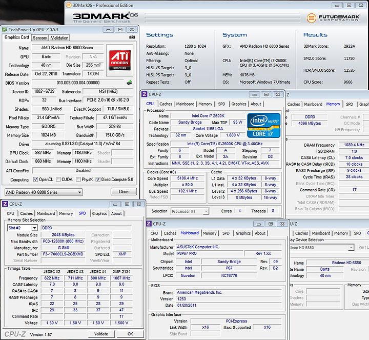 06 oc MSI HD6850 Cyclone IGD5 Power Edition