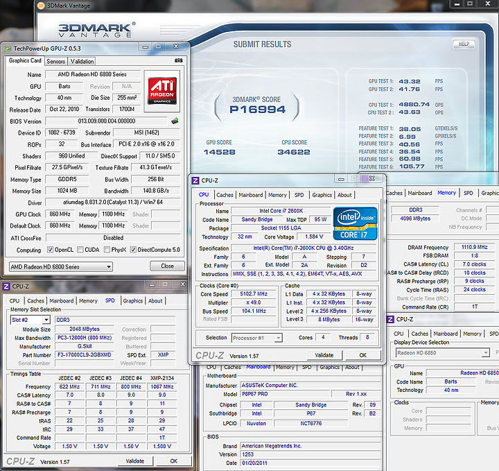 vantage MSI HD6850 Cyclone IGD5 Power Edition