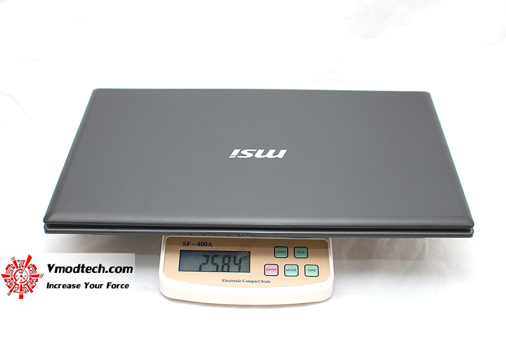 dsc 0558 Review : MSI GE620 notebook
