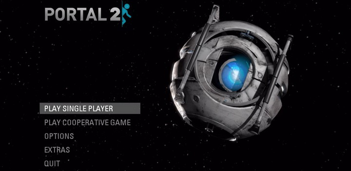 m menu Portal 2 Game Review