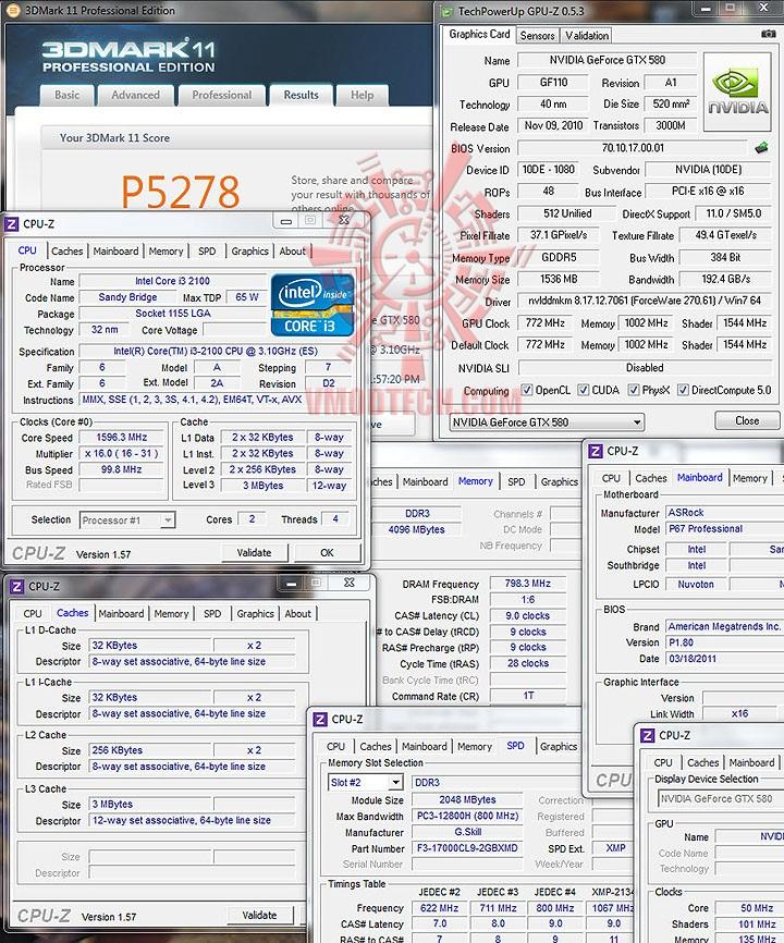 11 intel Core™ i3 2100 Processor