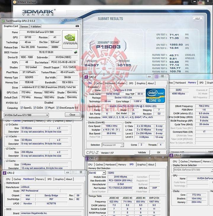 vantage intel Core™ i3 2100 Processor