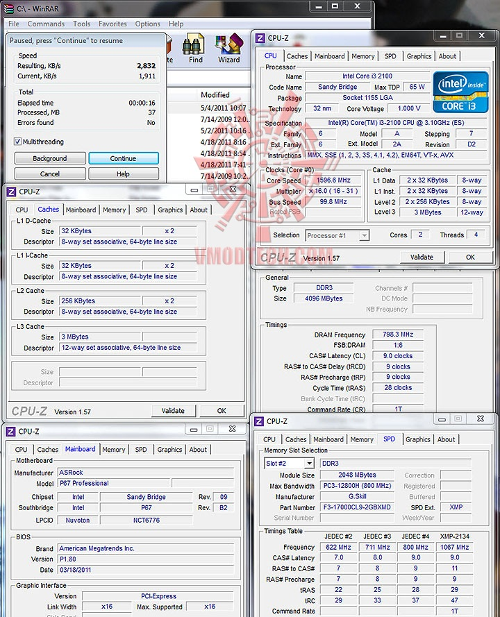 winrar intel Core™ i3 2100 Processor