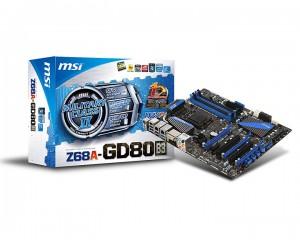 msi1 300x240 MSI เปิดตัวเมนบอร์ดตระกูล Z68 ขุมพลังใหม่ ไฉไลกว่าเดิม ประสิทธิภาพเพิ่มขึ้น 457%