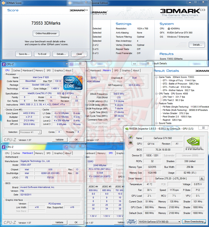 03 1 PaLiT NVIDIA GeForce GTX 560 SONIC Platinum 1GB GDDR5 Debut Review