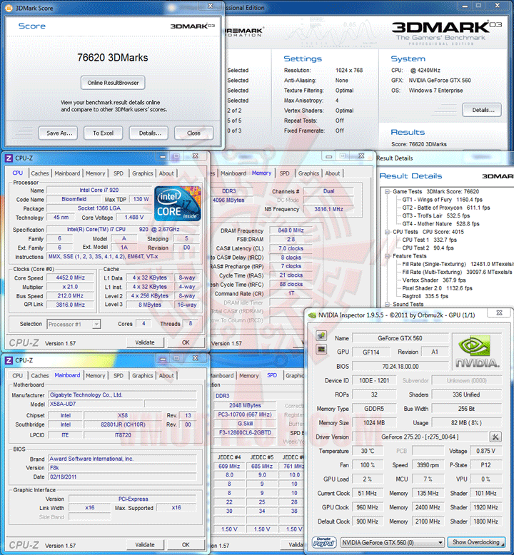 03 2 PaLiT NVIDIA GeForce GTX 560 SONIC Platinum 1GB GDDR5 Debut Review