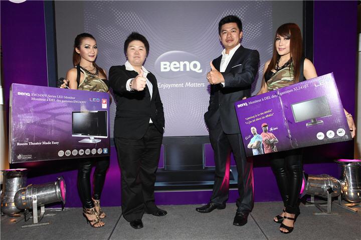 011 เบ็นคิวเอาใจเกมส์เมอร์มือโปรส่งจอ LED สองรุ่นลุยตลาด
