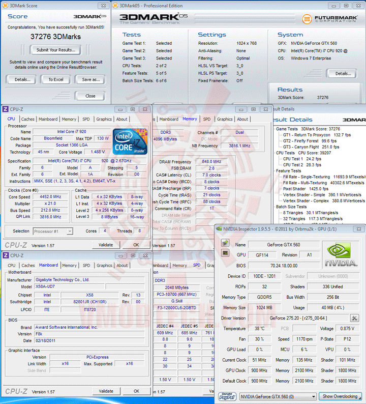 05 1 PaLiT NVIDIA GeForce GTX 560 SONIC Platinum 1GB GDDR5 Debut Review